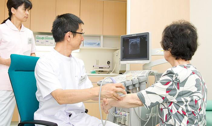 関節超音波検査(関節エコー検査)