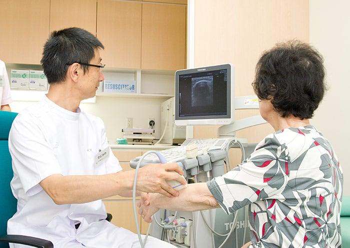 関節超音波検査